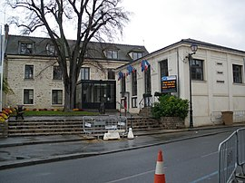 The town hall in Marcoussis