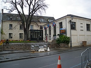 Marcoussis - The town hall in Marcoussis