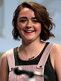 Maisie Williams 2 SDCC 2014.jpg