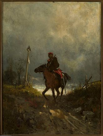 Maksymilian Gierymski - Maksymilian Gierymski, Insurgent from 1863, c. 1869
