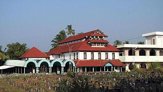 Malik Deenar - View of the Malik Deenar Mosque from the gate