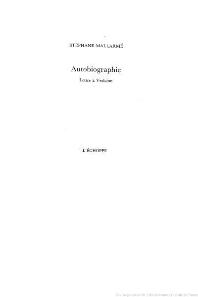 File:Mallarmé, Autobiographie, Échoppe, 1991.djvu
