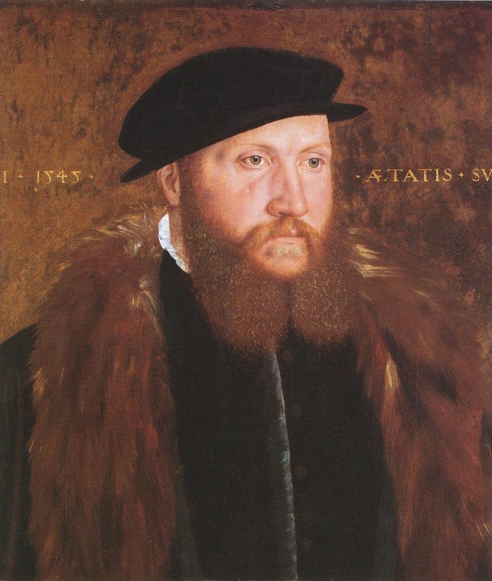 Man in a Black Cap, by John Bettes the Elder