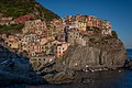 Manarola shortly before Sunset (32282683206).jpg