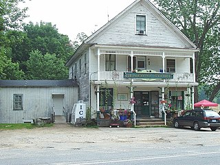 Mansfield Center Historic District