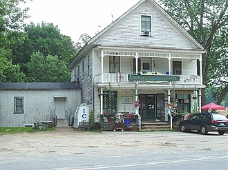 Mansfield Center Historic District - The Mansfield General Store