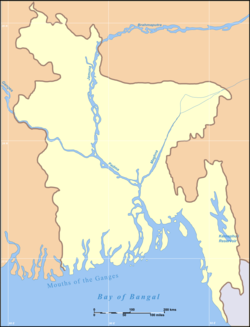 Dhaka is located in Bangladesh