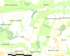 Map commune FR insee code 25436.png
