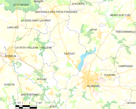 Map commune FR insee code 56249.png