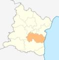 Map of Avren municipality (Varna Province).png