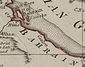Map of Catura (Qatar) 1794 (cropped).jpg