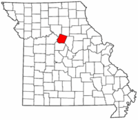 Map of Missouri highlighting Howard County.png