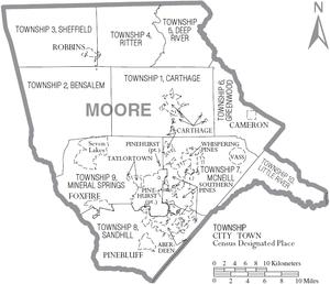 Richmond County Nc Map.Moore County North Carolina Wikipedia