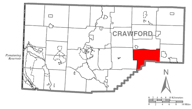 Image Result For Map Of Crawford County Pa