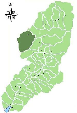 Corteno Golgi - Location of Corteno Golgi in Val Camonica