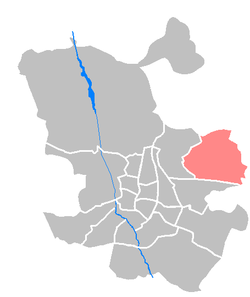 Location of Barajas