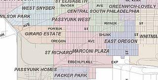 Marconi Plaza, Philadelphia human settlement in United States of America