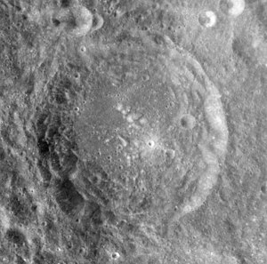Marconi (crater) - Image: Marconi crater AS17 M 0361