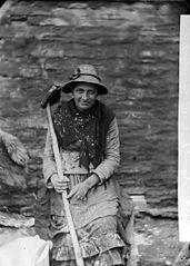 Margaret y Gwehydd (Margaret the Weaver), Cilgerran