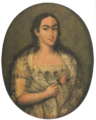 Mariana Carcelén de Guevara y Larrea, por Diego de Benalcázar (1827).png