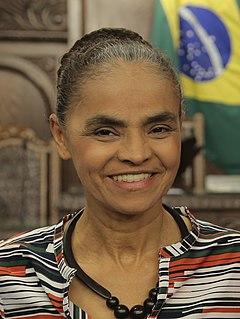 Marina Silva Brazilian environmentalist and politician