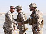 Marine generals tour Camp Dwyer, visit Marines and sailors during Christmas 111225-M-PH863-001.jpg