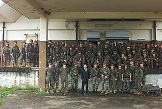 Joint Task Force Liberia - John W. Blaney and marines from the 26th Marine Expeditionary Unit.
