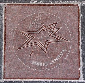 Canada's Walk of Fame - Mario Lemieux's star