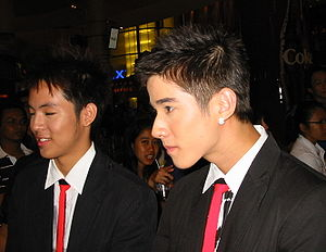 Mario Maurer and Witwisit Hiranyawongkul at St...