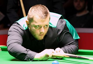 Mark Allen (snooker player) Northern Irish professional snooker player, 2018 Masters champion