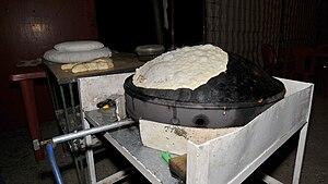 Markook - Image: Markouk Bread on Saje