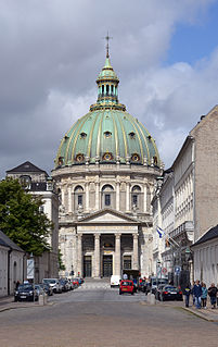 Frederiks Church Church in Copenhagen, Denmark