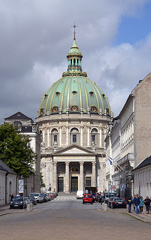 Frederik's Church - Front entrance of the church