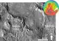 Martian impact crater Magong with Sabrina Vallis based on day THEMIS.png