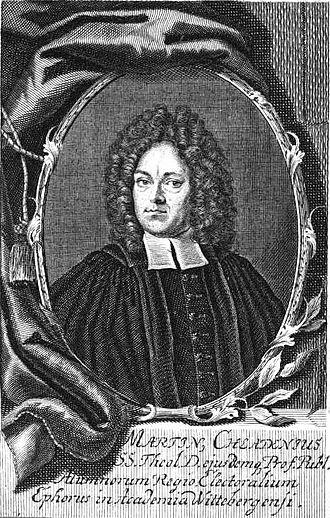 Ernst Chladni - Martin Chladni, Ernst Chladni's grandfather
