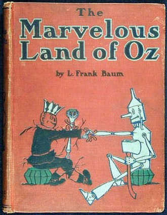 The Marvelous Land of Oz - First edition book cover