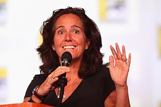 Mary McNamara - Mary McNamara at the 2012 San Diego Comic-Con