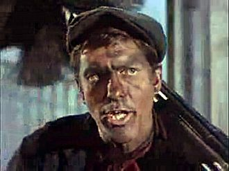 Dick Van Dyke as Bert the chimney sweep in Mary Poppins, 1964 Mary Poppins3.jpg