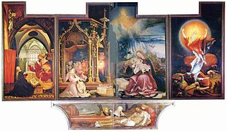 Matthias Grünewald - Second state of the Isenheim Altarpiece, Colmar, Unterlinden Museum