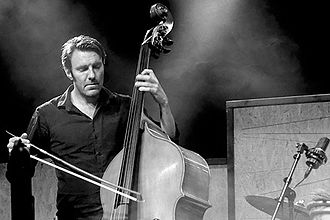2015 in jazz - Mats Eilertsen at Aarhus Jazz Festival,  Denmark July 2015.