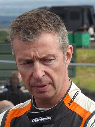 Matt Neal - Neal at the Knockhill round of the 2017 British Touring Car Championship