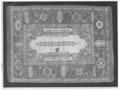 Matta , orientalisk ( sk. Siebenburgermatta ) - Skoklosters slott - 51639-negative.tif
