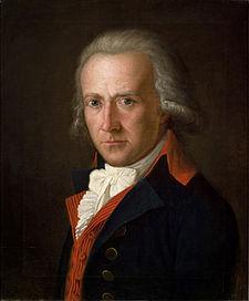 Friedrich von Matthisson (1794). Portrait by Ferdinand Hartmann (Source: Wikimedia)