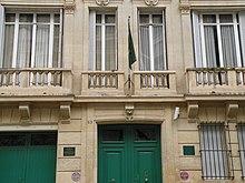 l'Ambassade de Russie a Brasilia, Brsil