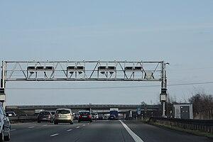 Mautbrücke LKW-Maut Deutschland, Autobahn