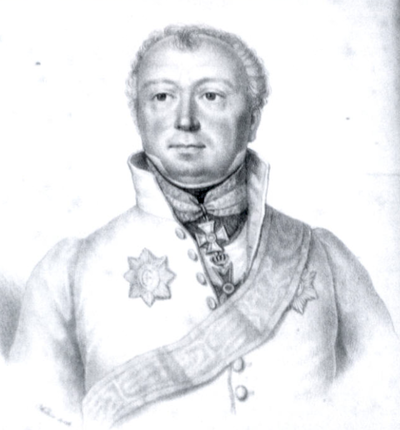 Maximilian von Wimpffen, the Army's Chief of Staff, was influential in defining the Austrian battle plan. Maximilian von Wimpffen.png