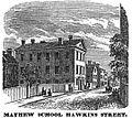 MayhewSchool HawkinsSt Boston HomansSketches1851.jpg