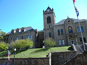 McDowell County, West Virginia - Image: Mc Dowell County WV Court