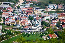 View of St. James Church and Medjugorje