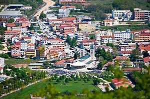 Medjugorje - View of St. James Church and Medjugorje